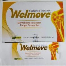 Jual Welmove Kaplet 12 Strip 5Kaplet Suplemen Persendian Nutrisi Persendian Obat Multivitamin Tulang