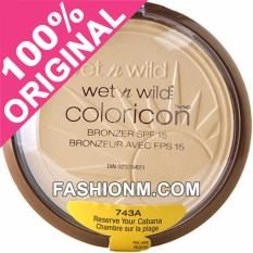 Ulasan Mengenai Wet N Wild Color Icon Bronzer Spf 15 Reserve Your Cabana