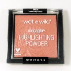Jual Wet N Wild Megaglo Highlighting Powder Crown Of My Canopy Baru