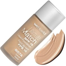Harga Wet N Wild Ultimate Match Spf 15 Foundation Sand Dan Spesifikasinya
