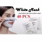 Katalog White Mask Masker Pengangkat Komedo 40 Pcs Terbaru