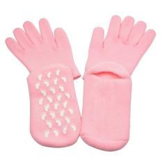 Harga Memutihkan Kulit Moisturizing Treatment Gel Spa Reusable Sarung Tangan Dan Kaus Kaki Pink Ckeyin