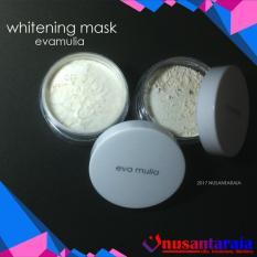 Jual Whitening Mask Masker Pemutih Eva Mulia Di Bawah Harga