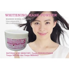 Iklan Whitening Mask Powder Wmp Masker Bubuk Original Korea