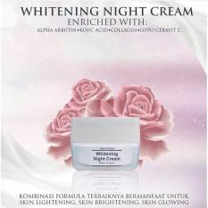 Beli Whitening Night Cream Ms Glow Seken