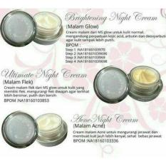 Tips Beli Whitening Night Cream Ms Glow By Cantik Skin Care