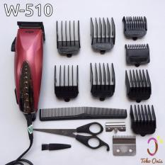 Diskon Wigo W 510 Alat Cukur Rambut Hair Cliper Original Free Pisau Branded