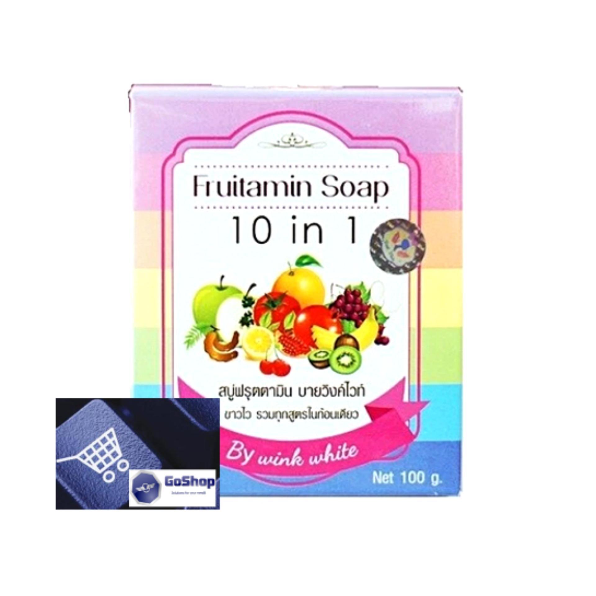 Harga preferensial Wink White GoShop Fruitamin Soap 10 in 1 - 100gr beli sekarang - Hanya