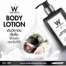 Review Wink White Whitening Body Lotion Lotion Whitening Sunscreen Pencerah Kullit 200Ml