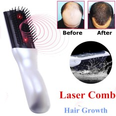 Wireless Laser Infrared Hair Growth Regrowth Therapy Treatment Massage Comb - intl