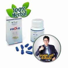 Toko Wish Pro Lq Capsule Suplemen Pria Untuk Stamina S*x Dan Menambah Size Otot Produk Dr Boyke Termurah