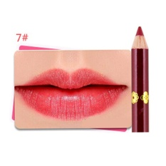 Wanita 12 Color Waterproof Makeup Pensil Bibir Matte Velvet Lip Liner Pen G-Intl