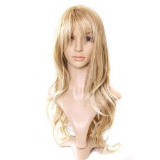 Review Rambut Palsu Wig Wanita Rambut Keriting With Poni Rambut Panjang Keriting Agnez Mo Internasional