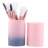 Jual Beli Wondershop 12Pcs Makeup Brushes Set Foundation Blending Blush Concealer Eye Face Lip Brush Intl Tiongkok
