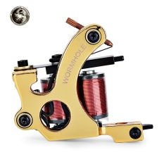 Harga Wormhole Tattoo Iron 10 Wrap Coils Machine Liner Shader Gold Intl Dan Spesifikasinya