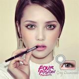 Harga X2 Bio Four Fusion Softlens Gray Diamonds Gratis Lenscase X2 Original