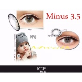 Review X2 Ice N*d* N8 Softlens Minus 3 50 Gray Gratis Lenscase