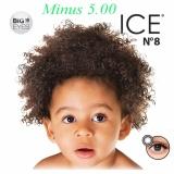 Jual Cepat X2 Ice N*d* N8 Softlens Minus 5 00 Black Gratis Lenscase