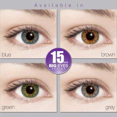 X2 New Diva Softlens / Soft Lens New DIVA EXOTICON KEMENKES - Blue