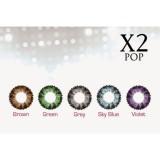 Harga X2 Pop Softlens Warna Biru Yang Murah Dan Bagus