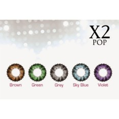 X2 Pop Softlens - Warna Biru
