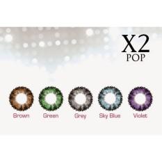 X2 Pop Softlens - Warna Hijau