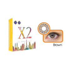 Katalog X2 Softlens Chic Brown Normal Terbaru
