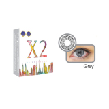 Jual X2 Softlens Chic Grey Normal Branded Murah