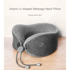 Jual Xiaomi Mijia Lf Neck Massager Pillow For Neck Relax Muscle Therapy Grey Online