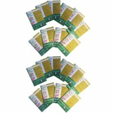 Spesifikasi Yangma Paket 20 Set Koyo Kaki Bamboo Foot Patch Gold