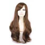 Spesifikasi Ybc Perempuan Wig Sintetis Gelombang Panjang Penuh Renda Cosplay Wig Coklat Muda Lengkap