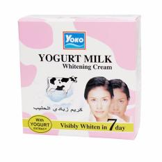 Yoko Yogurt Milk Whitening Cream 4 gr