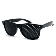 YUHOO Kacamata Terapi Vision Pinhole - Hitam