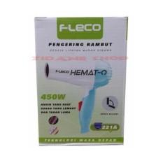 zidane FLECO Hair Dryer Lipat 221A  (warna random)