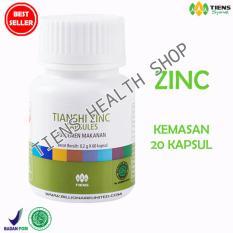 Spesifikasi Zinc Capsules Tiens Penggemuk Badan Herbal Promo 20 Kapsul Free Member Card Ths Dan Harga
