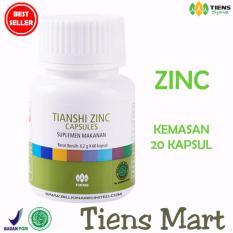 Toko Zinc Capsules Tiens Penggemuk Badan Promo Kemasan 20 Capsules Free Member Card By Tiens Mart Di Indonesia