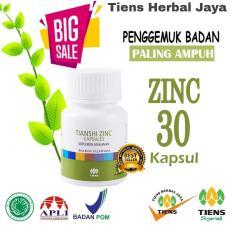 Zinc Capsules Tiens Penggemuk Badan Promo Kemasan 30 Kapsul + Free Gift + Member Card by