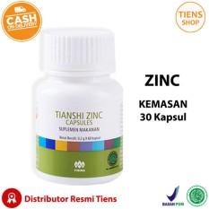 Jual Zinc Capsules Tiens Penggemuk Badan Promo Kemasan 30 Kapsul Free Gift Member Card By Ts1 Branded