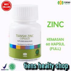 Daftar Harga Zinc Capsules Tiens Penggemuk Badan Promo Kemasan 60 Kapsul Free Gift Member Card By Ths Tiens