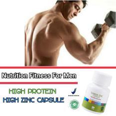 Daftar Harga Zinc Suplemen Fitness Pembentuk Massa Otot Premium By Luckystoore Tiens Supplement
