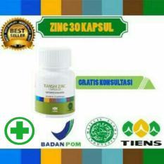 Spesifikasi Zinc Supplemen Hormon Tiens Internasional