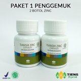 Harga Tiens Zinc Penggemuk Badan 2 Botol Free Member Card Tiens Srikandi Promo Original
