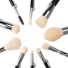 ZongHAX 10 Pcs Khusus Super Soft Makeup Brush Cosmetics Foundation Blending Brush Kuas Bedak Wajah-Intl