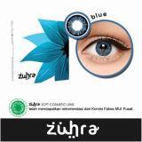 Zuhra Softlens Blue Gratis Lenscase Zuhra Diskon 30