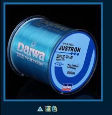 500 M Nylon Fishing Line Japanese Tahan Lama Monofilamen Rock Laut Pancing Daiwa Thread Bulk Spool 7.0 Biru