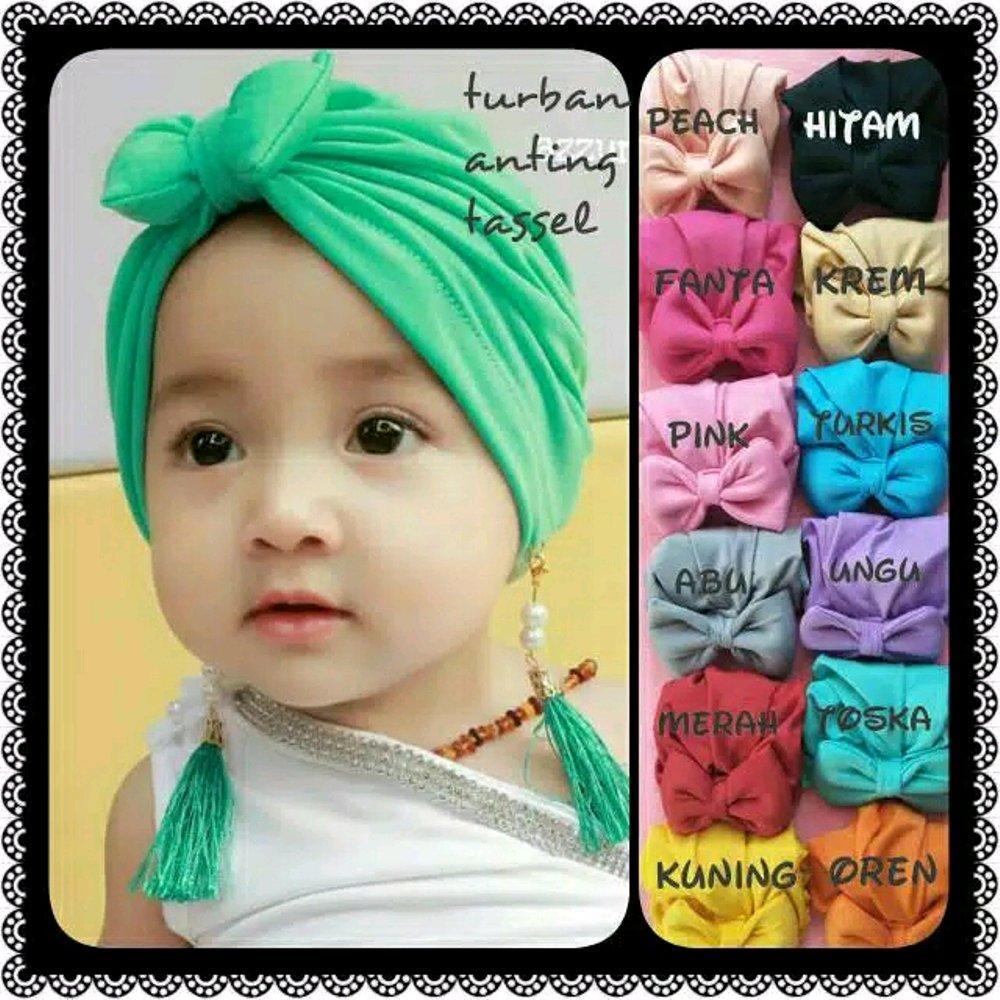 Turban Bayi Hijab Bayi Turban Rawis By Liashop.id.