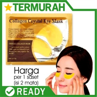 Masker Mata Crystal Collagen Gold Eye Bag Mask Eyemask original thumbnail
