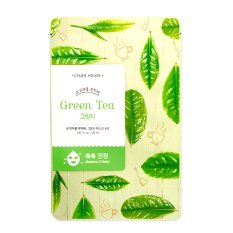 Etude Mask Green Tea Soothing Nourishing Take Care Of My Skin Mask No Brand Diskon 50