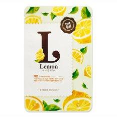 Jual Etude Mask Lemon Deep Firming Release Take Care Of My Skin Mask No Brand Ori