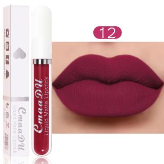 Ducare Lipstik Cair Lembut Matte, Lipstik Cair Tahan Air, Pelembab, Lip Gloss Tahan Lama, Lipstik Cair Cup Anti Lengket thumbnail